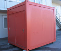 Sanitärcontainer Damen / Herren WC 10'